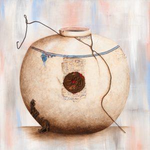 schilderij bron van inspiratie i