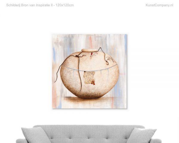 schilderij bron van inspiratie ii