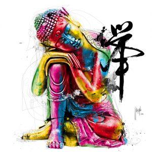 schilderij buddha