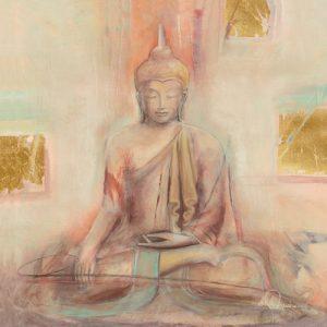 schilderij buddha i