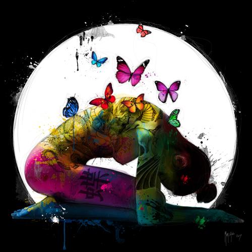 schilderij butterfly dream