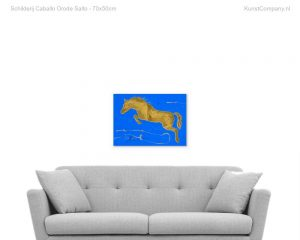 schilderij caballo orode salto