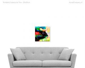 schilderij cabeza de toro