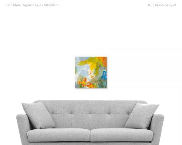 schilderij capucines ii