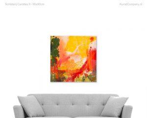 schilderij carottes ii
