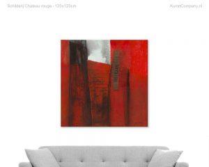 schilderij chateau rouge