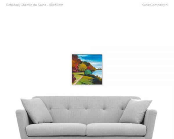schilderij chemin de seine