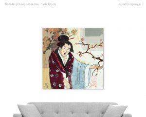 schilderij cherry blossoms