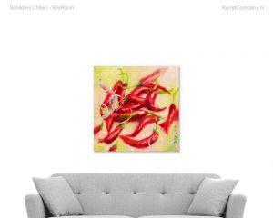 schilderij chilis i