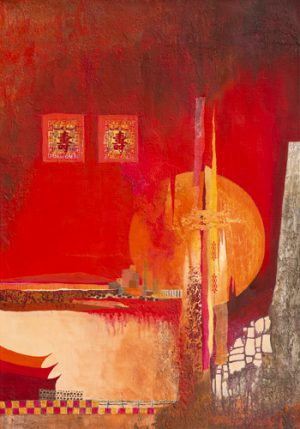 schilderij chinese landscape