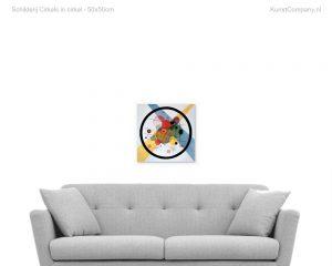 schilderij cirkels in cirkel