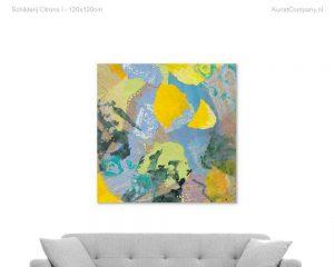 schilderij citrons i