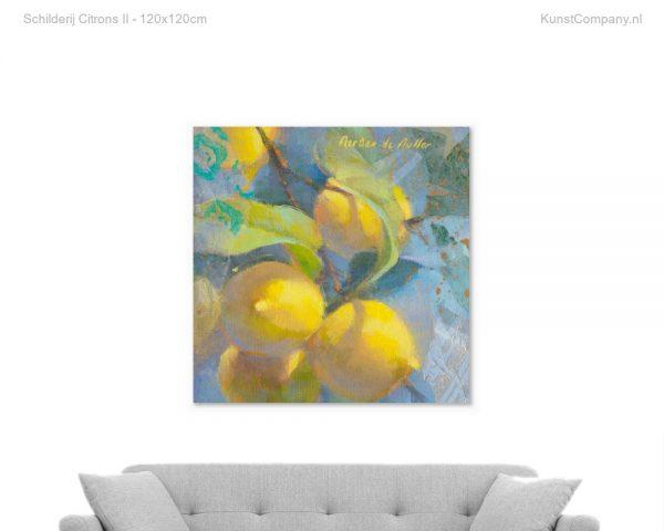 schilderij citrons ii