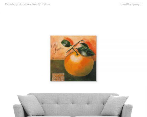 schilderij citrus paradisi