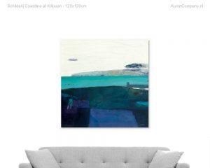 schilderij coastline at killouan