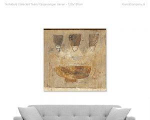 schilderij collected tears opgevangen tranen