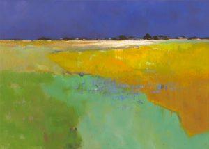 schilderij colourful land