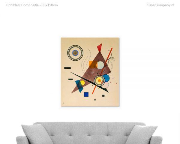 schilderij compositie