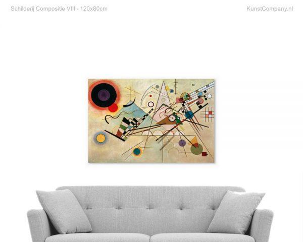 schilderij compositie viii