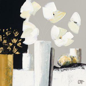 schilderij composition florale i