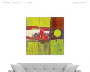 schilderij congregation