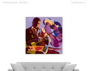 schilderij conspire