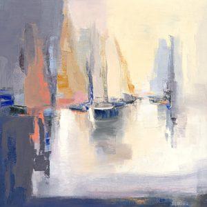 schilderij contre jour
