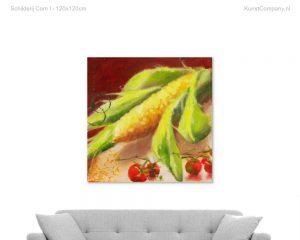 schilderij corn i
