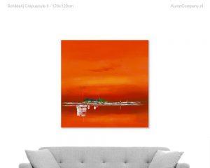 schilderij crepuscule ii