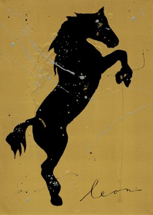 schilderij cria de caballos