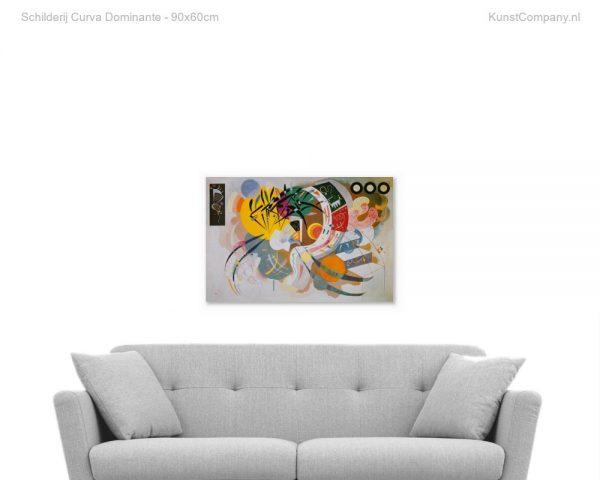 schilderij curva dominante
