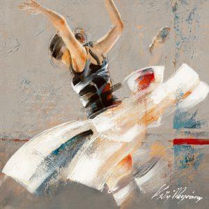 schilderij dance fusion i
