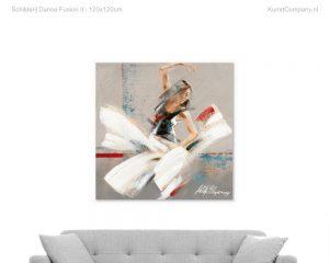 schilderij dance fusion ii