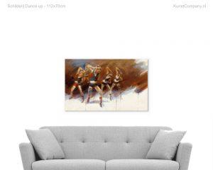 schilderij dance up