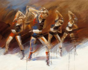 schilderij dance up