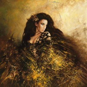 schilderij dance with light ii