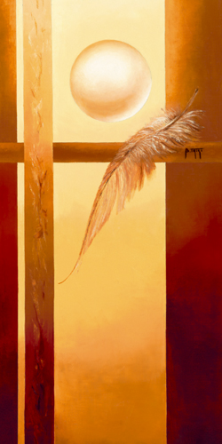 schilderij dans la lumiere