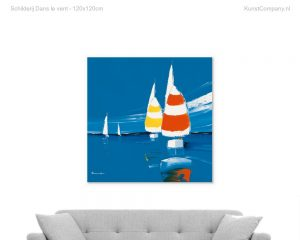 schilderij dans le vent