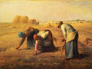 schilderij de arenleessters