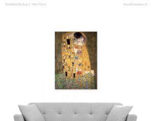 schilderij de kus