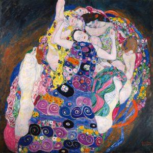 schilderij de maagd