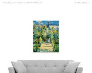 schilderij de tuin van de kunstenaars
