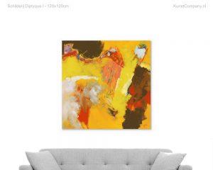 schilderij diptyque i