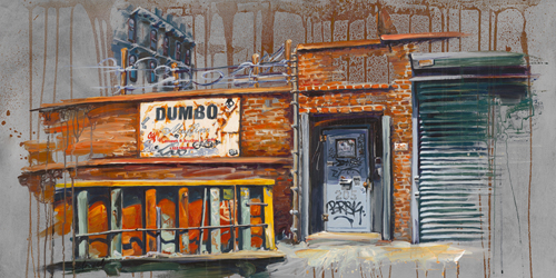 schilderij dumbo iv