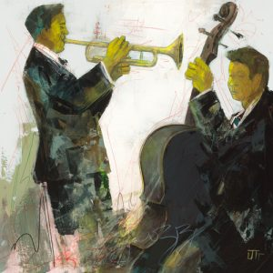 schilderij duo