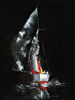 schilderij effet de nuit