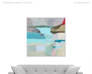 schilderij eigue marine