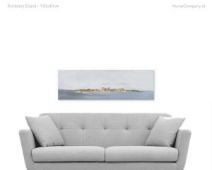 schilderij eiland
