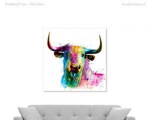 schilderij el toro