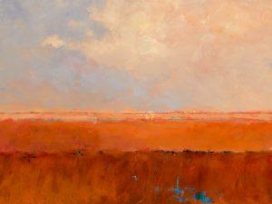 schilderij endless landscape